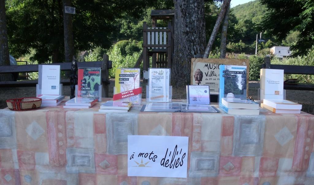 Le stand de l'écrivain public