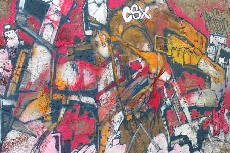 Graffitis chaos fin du monde