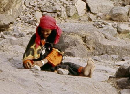 Vieille femme marocaine