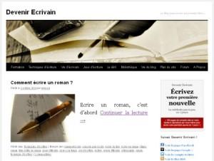 Blog Devenir écrivain
